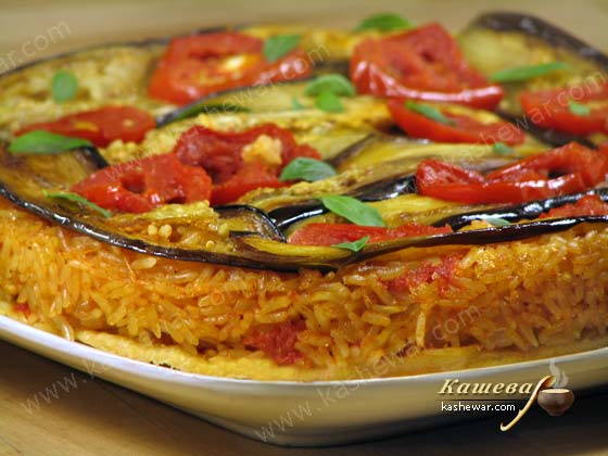Tatina with vegetables and rice -recipe with photo, Spanish cuisine